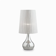 Stolní lampa Ideal Lux ETERNITY TL1 BIG ARGENTO
