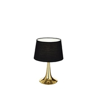 Stolní lampa Ideal Lux LONDON TL1 SMALL OTTONE