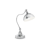 Stolní lampa Ideal Lux Amsterdam TL1 Cromo